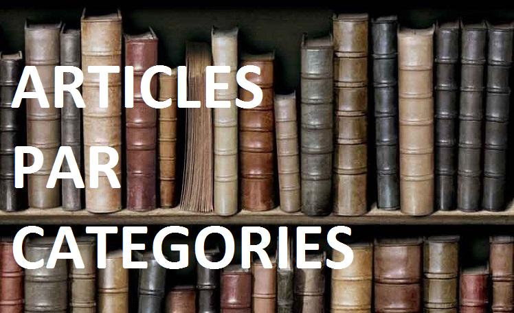 Billets et posts par catégories