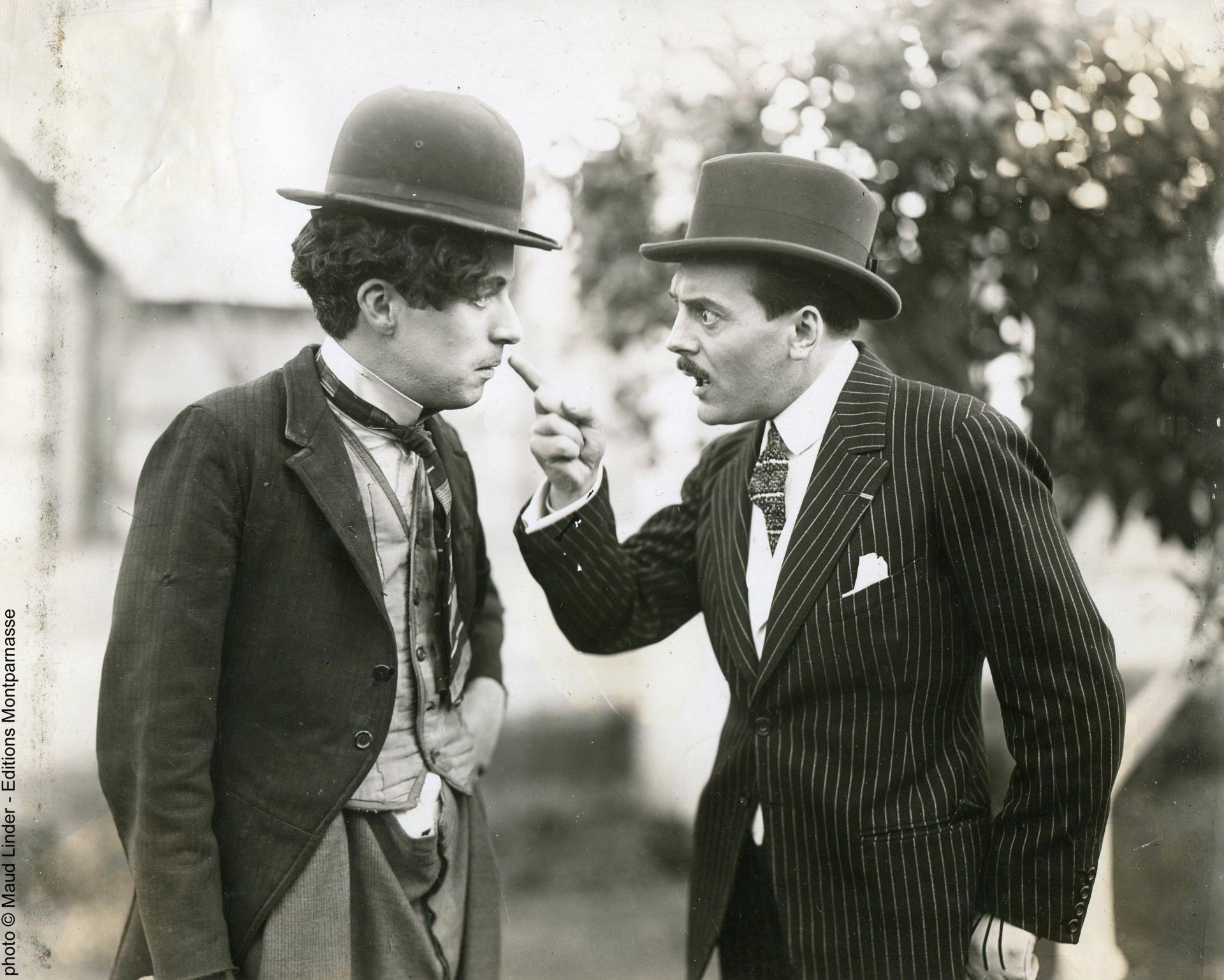 Max Linder et Charlie Chaplin
